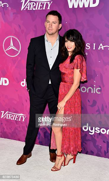 Actors Channing Tatum and Jenna DewanTatum attend the 2nd Annual StyleMaker Awards hostd by Variety and WWD at Quixote Studios West Hollywood on...
