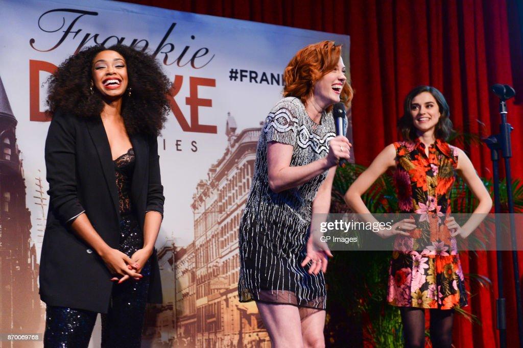 CBC Hosts The Launch Of 'Frankie Drake Mysteries' : Nachrichtenfoto