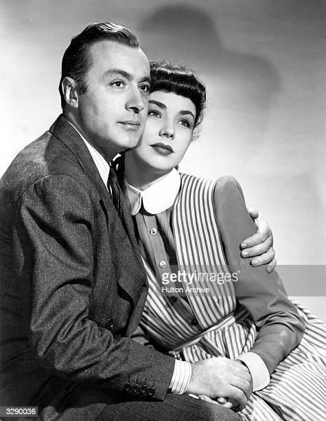 Actors Charles Boyer and Jennifer Jones as they appear in the romantic comedy 'Cluny Brown' Title Cluny Brown Studio TCF Director Ernst Lubitsch