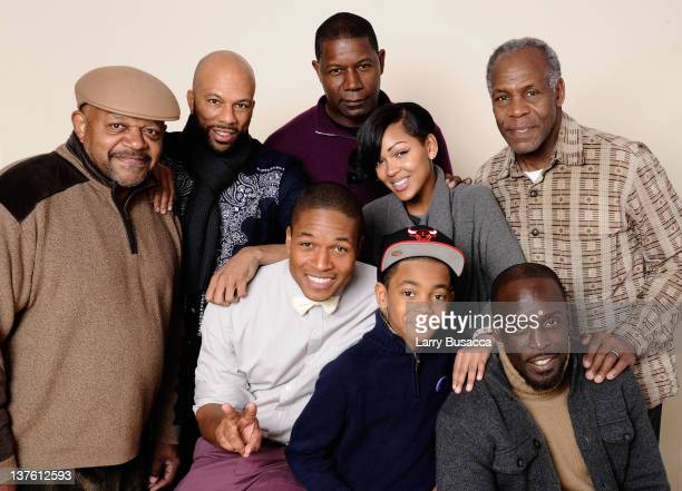 Actors Charles S Dutton Common Dennis Haysbert director Sheldon Candis actress Meagan Good actors Michael Rainey Jr and Michael K Williams pose for a...