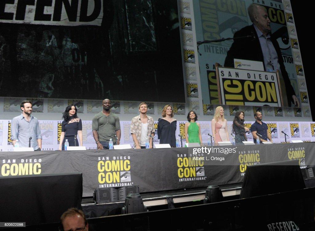 Comic-Con International 2017 - Netflix's 'The Defenders' Panel : Nieuwsfoto's