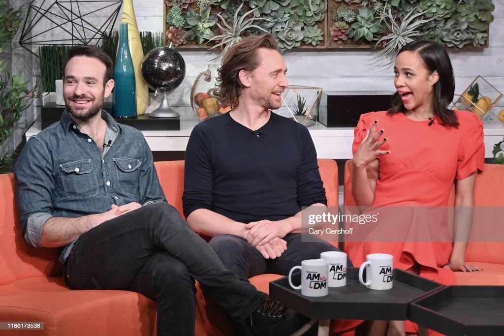 "Celebrities Visit BuzzFeed's ""AM To DM"" - November 7, 2019 : News Photo"