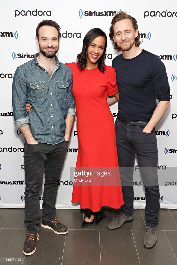 Celebrities Visit SiriusXM - November 7, 2019 : News Photo