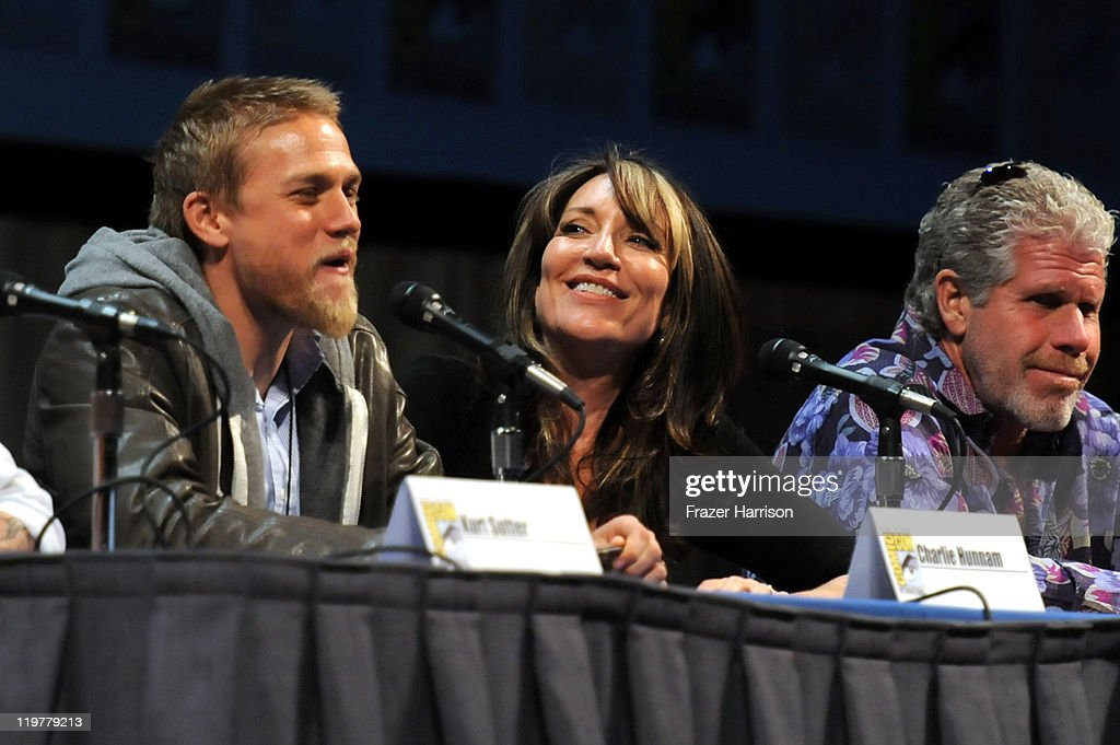 "FX's ""Sons Of Anarchy"" Panel - Comic-Con 2011 : News Photo"