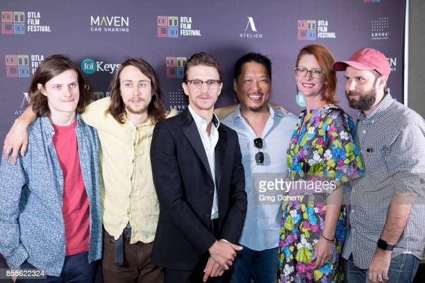 Actors Charlie Tahan and Owen Campbell Director Kevin PhillipsProducer Ed Parks Actress Rachel Ward and Producer Jeff Steiger arrive for the DTLA...