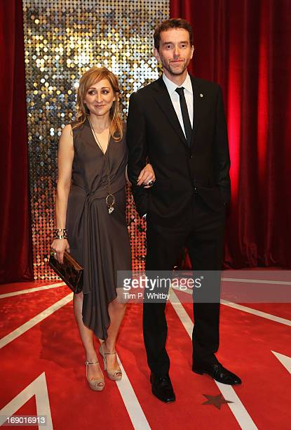 Actors Charlotte Bellamy and Mark Charnock attend the British Soap Awards at Media City on May 18 2013 in Manchester England
