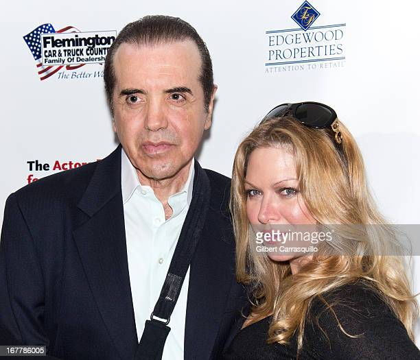 Actors Chazz Palminteri and Gianna Ranaudo attend the 2013 Actors Fund's Annual Gala Honoring Robert De Niro at The New York Marriott Marquis on...