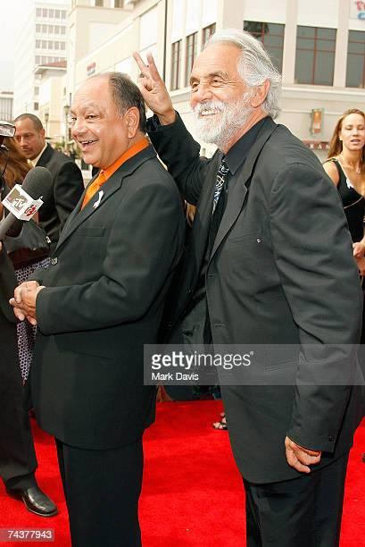 Actors Cheech Marin and Tommy Chong arrive at the 2007 NCLR ALMA Awards held at the Pasadena Civic Auditorium on June 1 2007 in Pasadena California