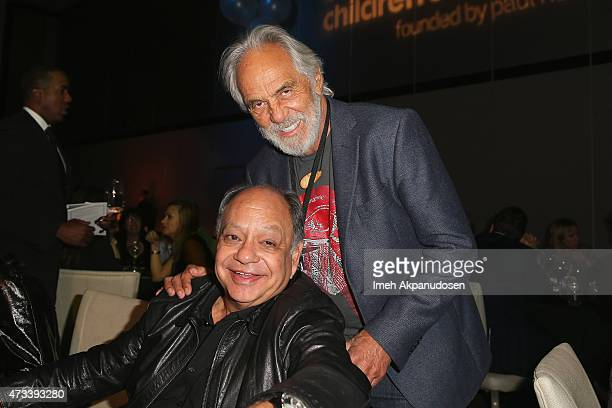 Actors Cheech Marin and Tommy Chong attend the after party for the SeriousFun Children's Network 2015 Los Angeles Gala An Evening Of SeriousFun...