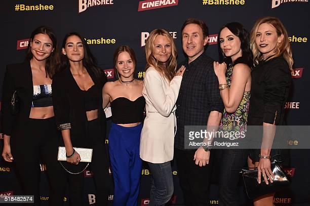Actors Cherie Jimenez Ryann Shane Tanya Clarke Ana Ayora creator/executive producer Jonathan Tropper Eliza Dushku and Jennifer Landon attend the...