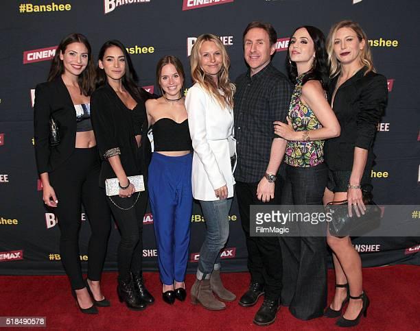 Actors Cherie Jimenez Ryann Shane Tanya Clarke Ana Ayora creator/executive producer Jonathan Tropper Eliza Dushku and Jennifer Landon attend...
