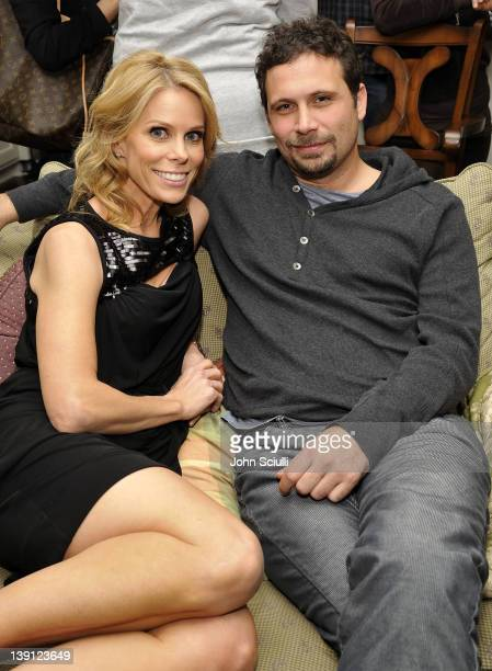 Actors Cheryl Hines and Jeremy Sisto attend a launch party for new skincare line Puristics at a private residence on February 16 2012 in Los Angeles...
