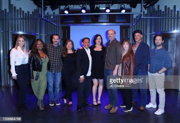 Actors Cheryl Hines, Sherri Shepherd, Will Forte, Dayle Reyfel, Eugene Pack, Jennifer Tilly, Scott Adsit, Laraine Newman, Christopher Meloni and...