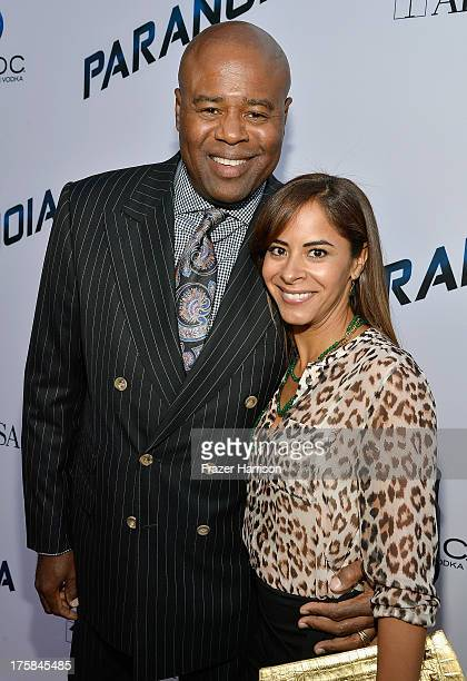 Actors Chi McBride and Julissa McBride attend the premiere of Relativity Media's Paranoia at DGA Theater on August 8 2013 in Los Angeles California