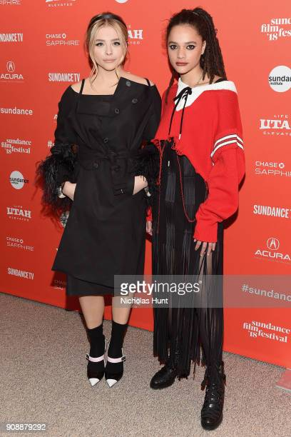 Actors Chloë Grace Moretz and Sasha Lane attend the 'The Miseducation Of Cameron Post' And 'I Like Girls' Premieres during the 2018 Sundance Film...