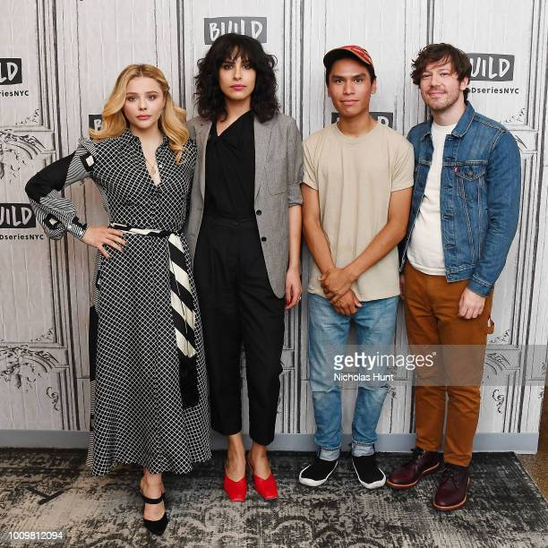 Actors Chloe Grace Moretz director Desiree Akhavan Forrest Goodluck and John Gallagher Jr visit Build Series to discuss 'The Miseducation of Cameron...