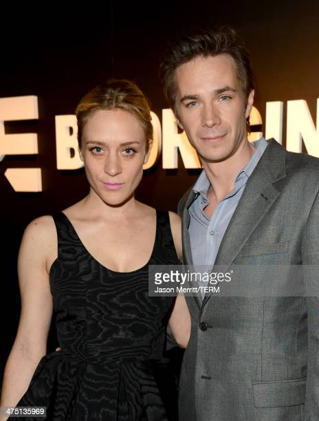 """Actors Chloe Sevigny and James D'Arcy attend A&E's """"Bates Motel"""" and """"Those Who Kill"""" Premiere Party at Warwick on February 26, 2014 in Hollywood,..."""
