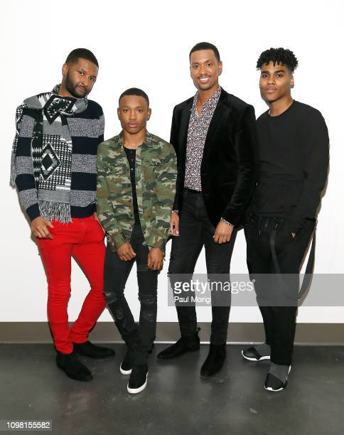 Actors Chosen Wilkins Dremon Cooper Arrington Foster and Emery Lavell Johnson arrive at the Advanced Cooperative Communication Empowerment for People...