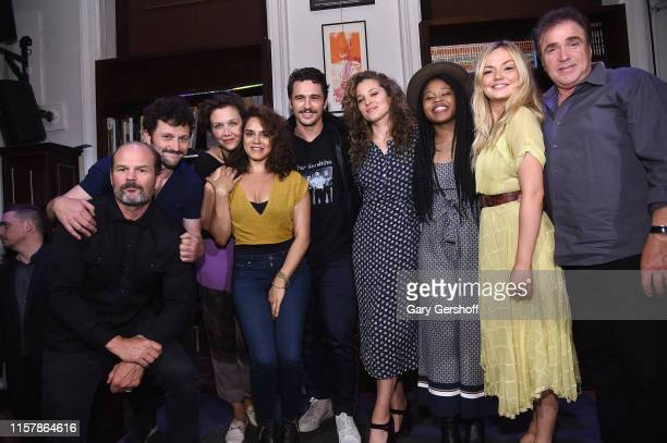 Actors Chris Bauer Daniel Sauli Maggie Gyllenhaal Sepideh Moafi James Franco Margarita Levieva Dominique Fishback Emily Meade and Michael Rispoli...