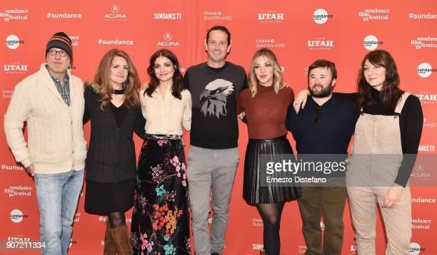 Actors Chris Elliott Paula Niedert Elliott and Bridey Elliott and Trevor Groth Director of Programming of Sundance Film Festival and actors Abby...