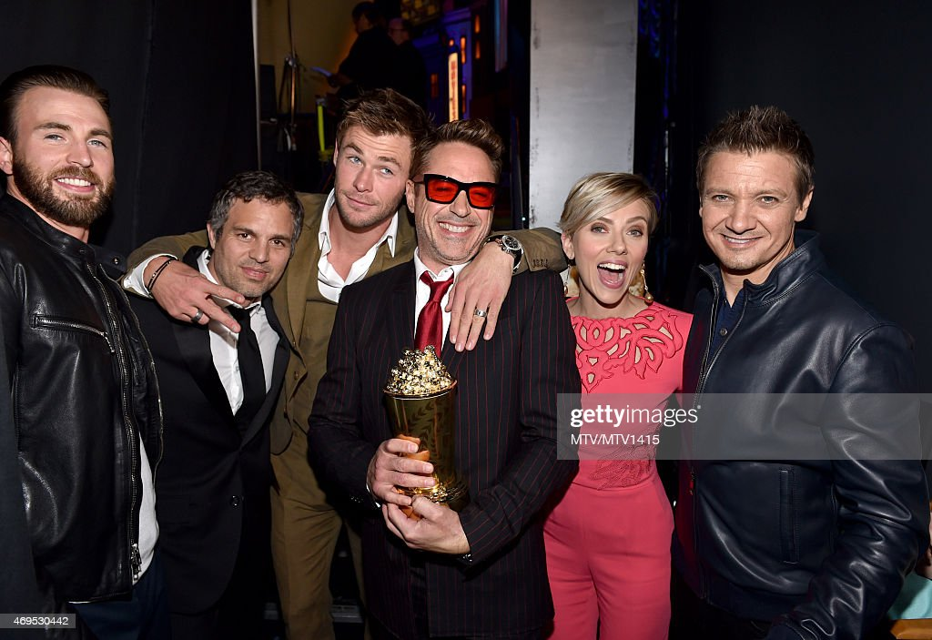 The 2015 MTV Movie Awards - Backstage and Audience : News Photo