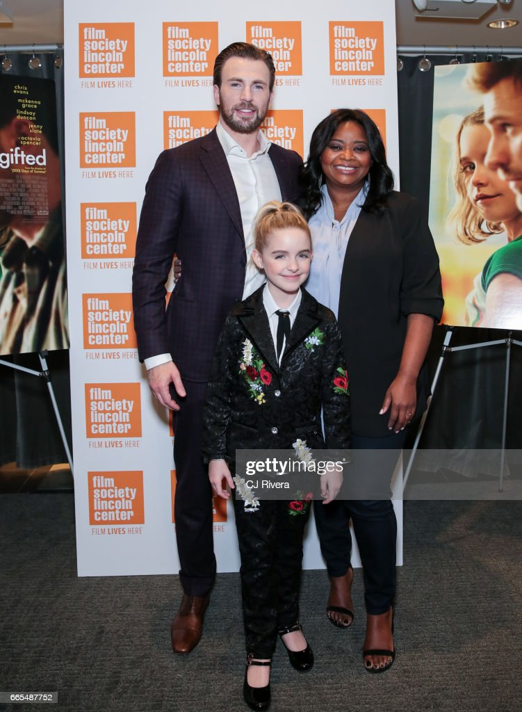 """""""Gifted"""" New York Premiere : News Photo"""