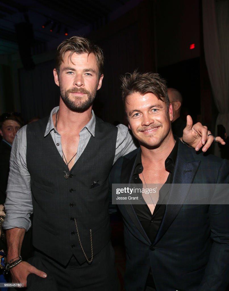 "Los Angeles Global Premiere for Marvel Studios' ""Avengers: Infinity War"" : News Photo"