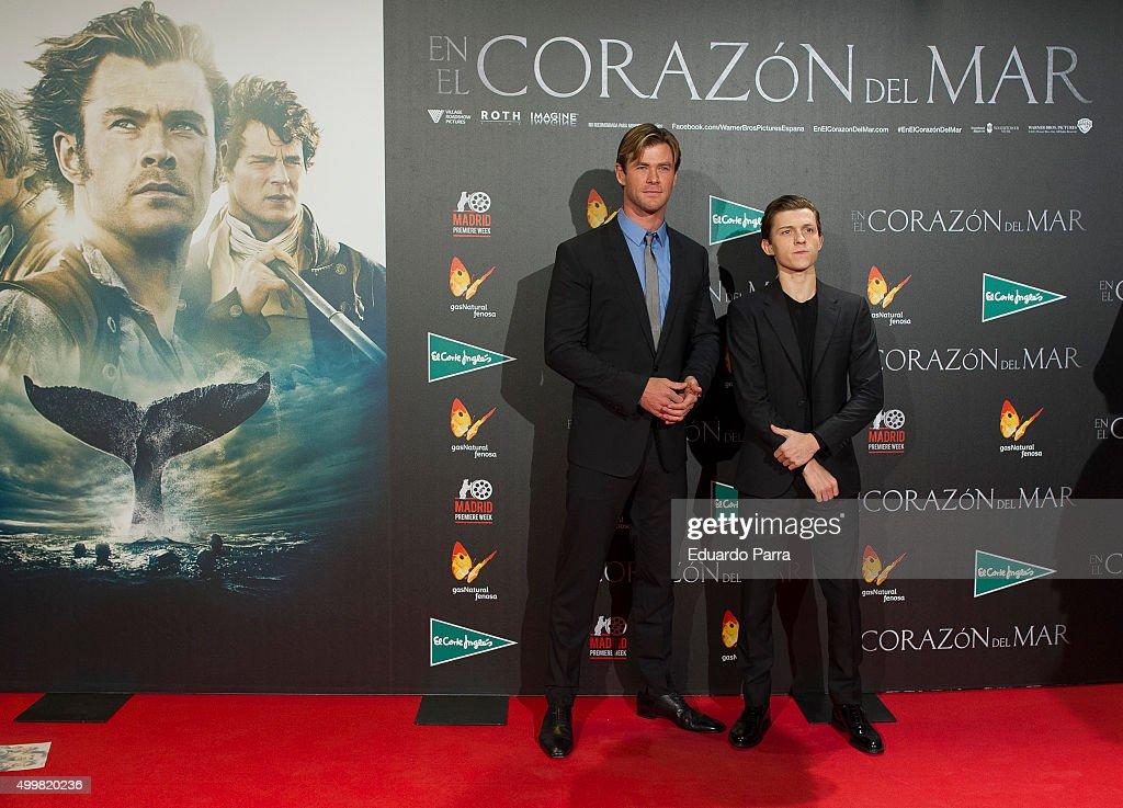 'En El Corazon del Mar' Premiere : News Photo