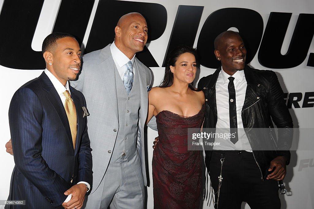 USA - Furious 7 premiere in Los Angeles. : News Photo