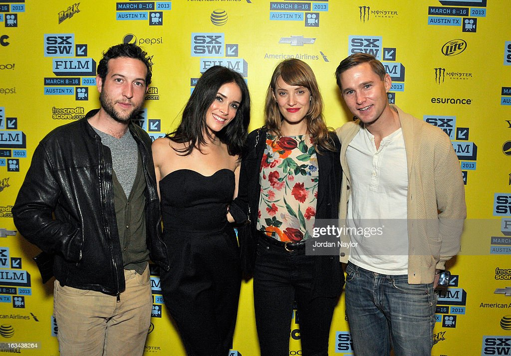 Actors Chris Marquette, Abigail Spencer, Alexia Rasmussen and Brian Geraghty arrive at the screening of 'Kilimanjaro' during the 2013 SXSW Music, Film + Interactive Festival at Stateside Theater on March 9, 2013 in Austin, Texas.