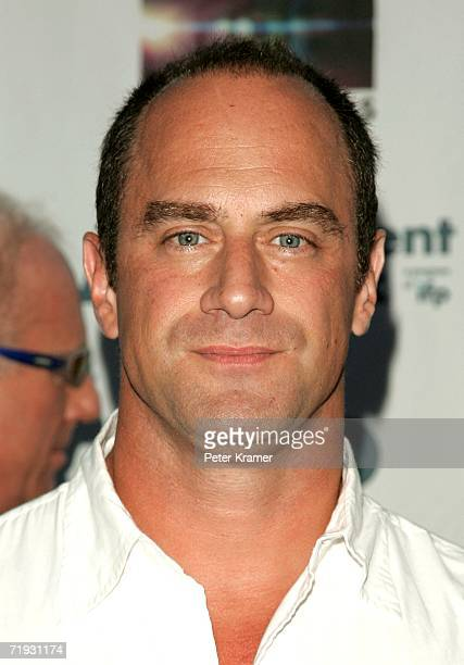 Actors Chris Meloni attends the First Look Pictures premiere of A Guide To Recognizing Your Saints on September 18 2006 in New York City
