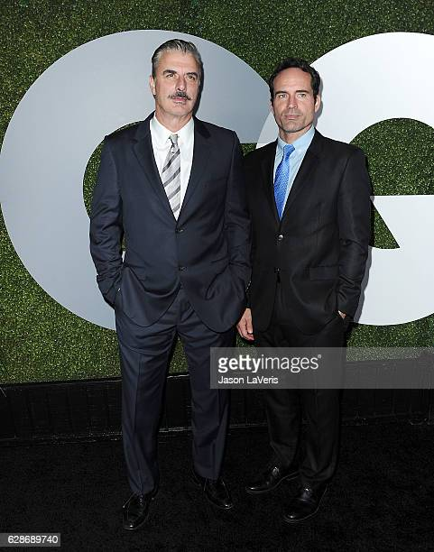 Actors Chris Noth and Jason Patric attend the GQ Men of the Year party at Chateau Marmont on December 8 2016 in Los Angeles California