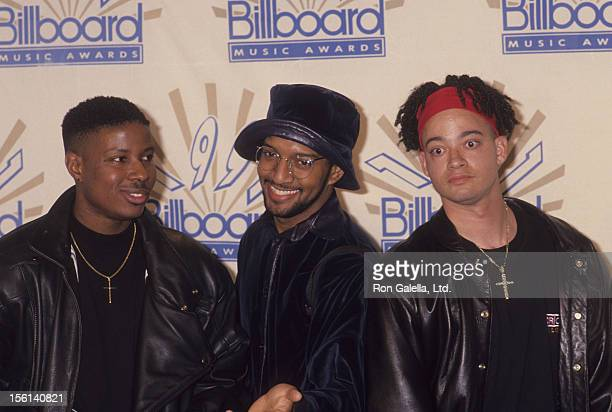 Actors Chris 'Play' Martin and Chris 'Kid' Reid attend Second Annual Billboard Awards on December 3 1991 at the Barker Hanger at Santa Monica Airport...