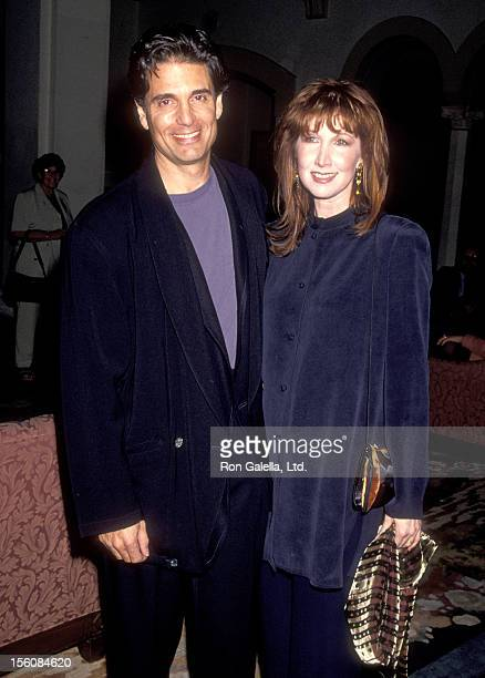 Actors Chris Sarandon and Joanna Gleason attend the 20th Annual Saturn Awards on October 20 1994 at Hollywood Roosevelt Hotel in Hollywood California