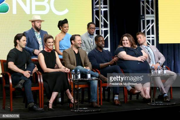 Actors Chris Sullivan Susan Kelechi Watson Ron Cephas Jones Milo Ventimiglia Mandy Moore executive producer/showrunner Dan Fogelman and actors...