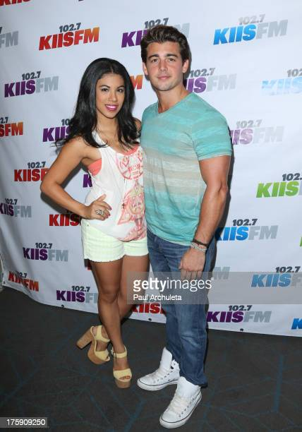 Actors Chrissie Fit and John DeLuca attend the 102.7 KIIS-FM's Teen Choice Awards pre-party at the W Los Angeles - Westwood on August 9, 2013 in Los...