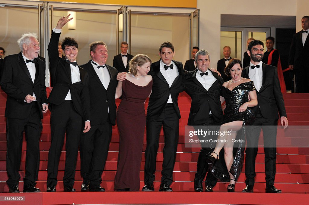"""Staying Vertical ""  - Red Carpet Arrivals - The 69th Annual Cannes Film Festival"
