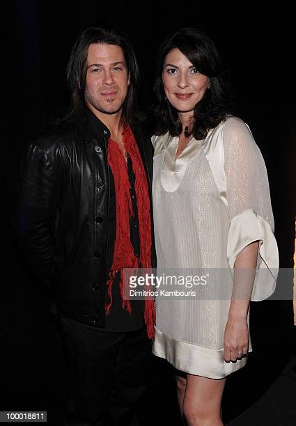 Actors Christian Kane and Gina Bellman attend the TEN Upfront presentation at Hammerstein Ballroom on May 19 2010 in New York City 19688_002_0592JPG