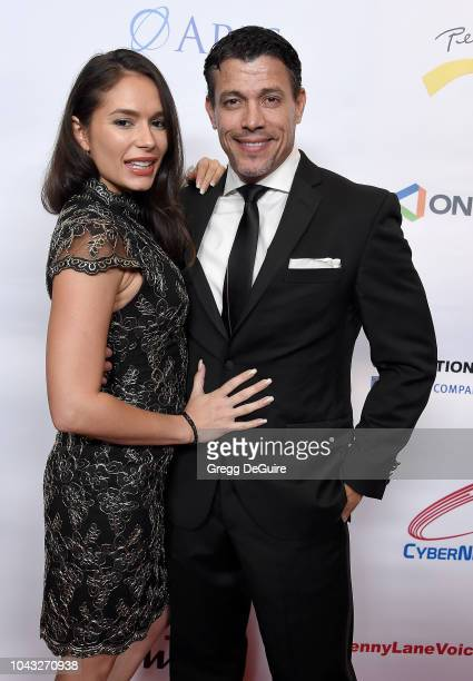 Actors Christiana Leucas and Al Coronel arrive at the 18th Annual Voices Of Our Children Fundraiser Gala And Awards at Lowes Hollywood Hotel on...