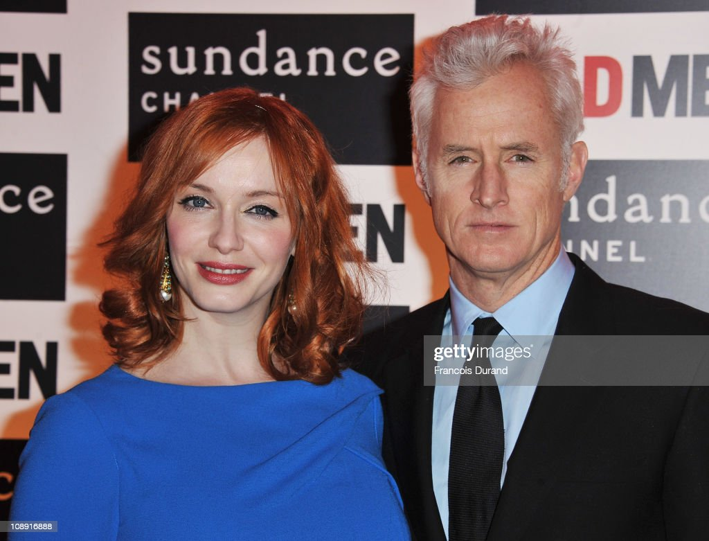 Sundance Channel - Mad Men Gala Event At Hotel Royal Monceau - Red Carpet Photocall : News Photo