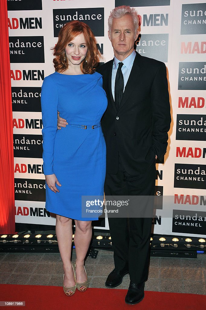 Sundance Channel - Mad Men Gala Event At Hotel Royal Monceau - Red Carpet Photocall : ニュース写真