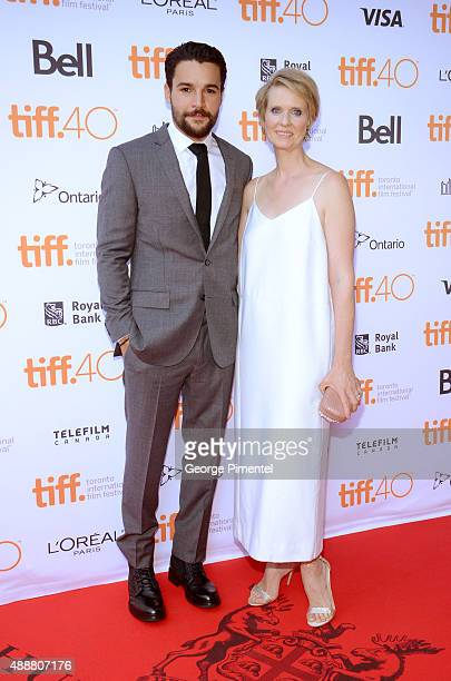 Actors Christopher Abbott and Cynthia Nixon attend the James White photo call during the 2015 Toronto International Film Festival at Ryerson Theatre...