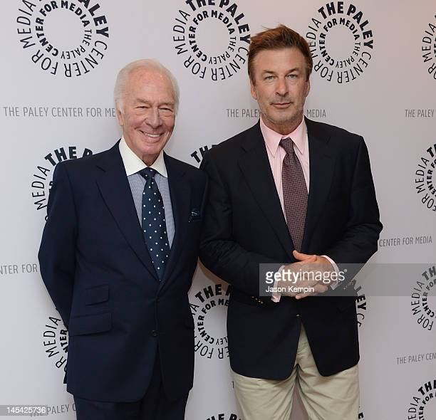 Actors Christopher Plummer and Alec Baldwin attend The Paley Center For Media Presents An Evening With Christopher Plummer at Paley Center For Media...