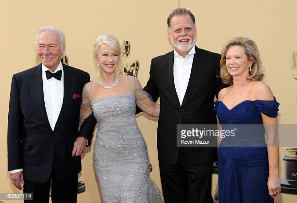 Actors Christopher Plummer and Helen Mirren director Taylor Hackford and actress Elaine Taylor arrives at the 82nd Annual Academy Awards at the Kodak...