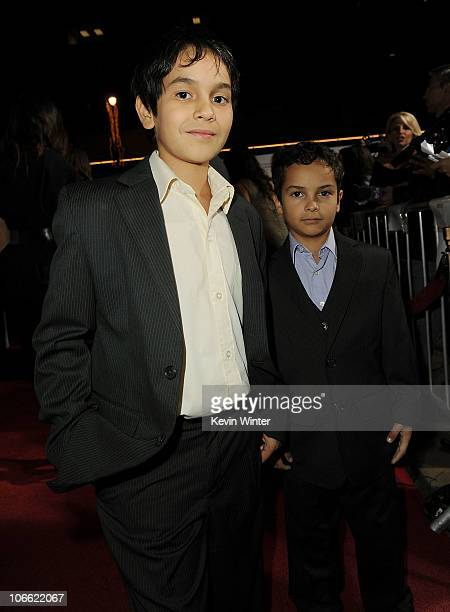 Actors Christopher RuizEsparza and Gerardo RuizEsparza arrive at Abel screening during AFI FEST 2010 presented by Audi at Grauman's Chinese Theatre...