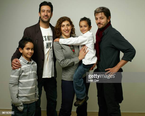 Actors Christopher RuizEsparza Jose Maria Yazpik Karina Gidi Gerardo RuizEsparza and director Diego Luna pose for a portrait during the 2010 Sundance...