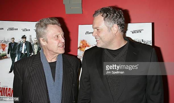 Actors Christopher Walken and Vincent D'Onofrio attends the premiere of Kill the Irishman at Landmark's Sunshine Cinema on March 7 2011 in New York...
