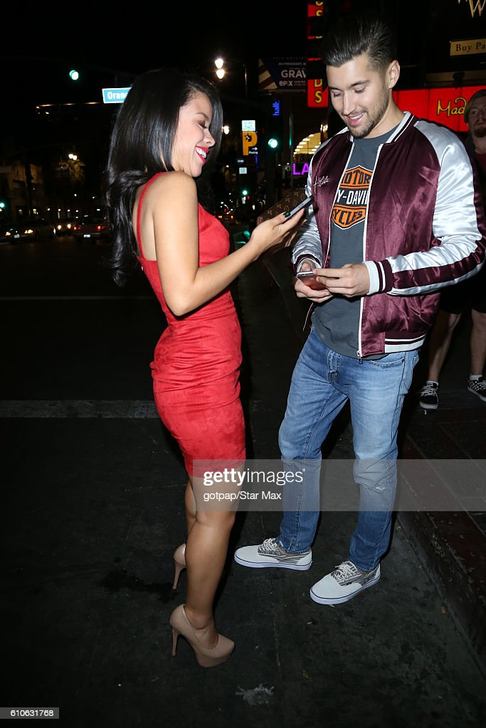 Celebrity Sightings In Los Angeles - September 26, 2016 : News Photo