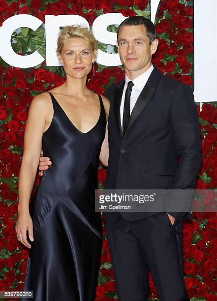 Actors Claire Danes and Hugh Dancy attend the 70th Annual Tony Awards at Beacon Theatre on June 12 2016 in New York City