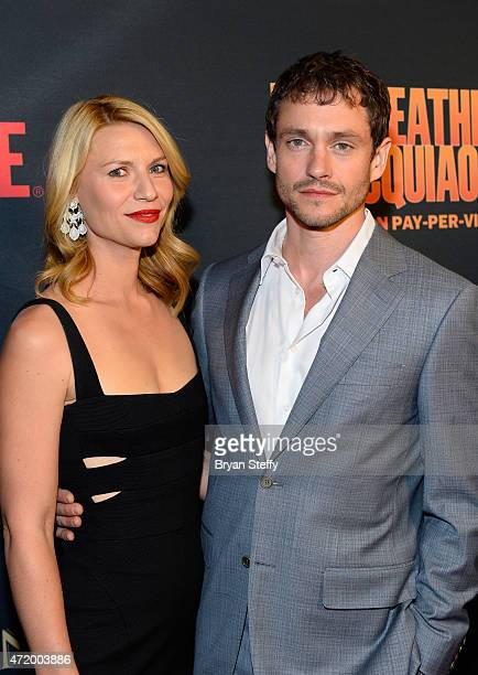 Actors Claire Danes and Hugh Dancy attend the SHOWTIME And HBO VIP PreFight Party for Mayweather VS Pacquiao at MGM Grand Hotel Casino on May 2 2015...